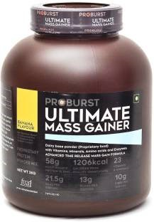 Proburst Ultimate Mass Gainer (3Kg, Banana)