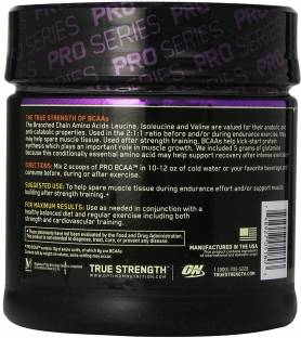 Optimum Nutrition PRO BCAA Protein (20 Servings) Raspberry Lemonade