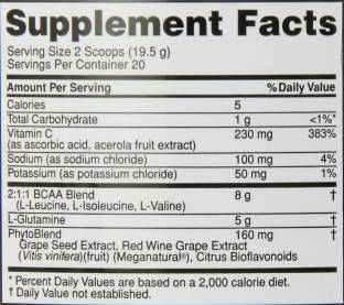 Optimum Nutrition PRO BCAA Protein (20 Servings, Raspberry Lemonade)