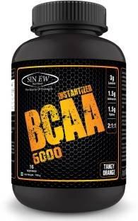 Sinew Nutrition Instantized BCAA 6000 (100gm, Orange)