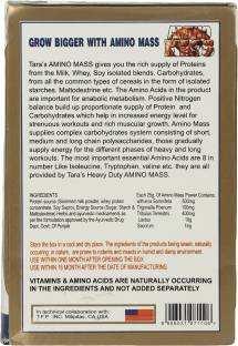 Tara Nutricare Amino Mass Supplement (1Kg, Chocolate)