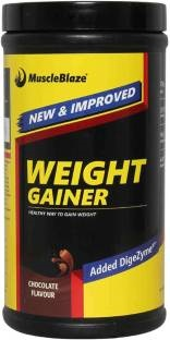 MuscleBlaze Weight Gainer with Added Digezyme (1.1 lbs, Chocolate)