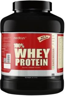 Medisys 100% Whey Protein (2Kg, Cafee)