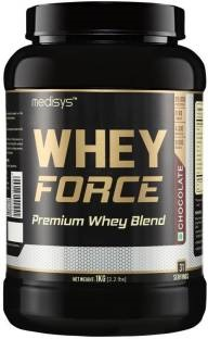 Medisys Whey Force Protein (1Kg, Chocolate)