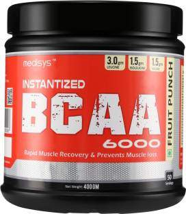 Medisys Instantized BCAA 6000 Powder (400gm, Fruit Punch)