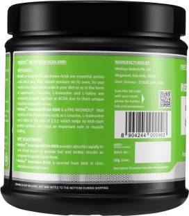 Medisys Instantized BCAA 6000 Protein (400gm / 0.89lbs, Apple)