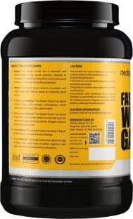 Medisys Fast Weight Gainer (2Kg / 4.41lbs, Banana)