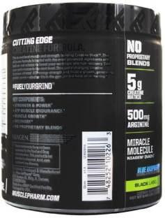 MusclePharm Creatine Dietary Supplemen (30 Servings,Blue Raspberry)