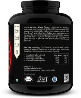 Sinew Nutrition Instantised Whey Protein 80% Concentrate (2Kg)