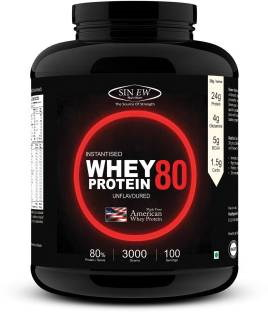 Sinew Nutrition Instantised Whey Protein 80% Concentrate (3Kg)