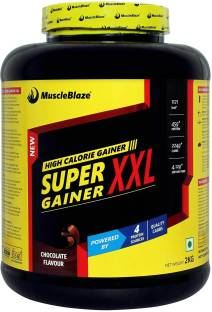 MuscleBlaze Super Gainer XXL (2Kg, Chocolate)