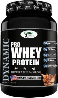 World Nutrition Dynamic Pro Whey Protein Powder (1Kg, Chocolate)