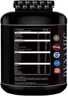 World Nutrition Dynamic Pro Whey Protein (2.27Kg, Vanilla)