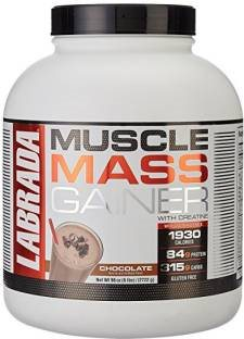 Labrada Nutrition Muscle Mass Gainer (2.72Kg, Chocolate)