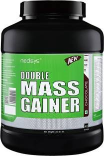 Medisys Double Mass Gainer (3Kg / 6.61lbs, Chocolate)