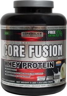 Corebolics Core Fusion Pure Whey Protein (2.49Kg, Chocolate)