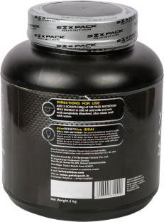 Six Pack Nutrition Max Muscle Jumbo Weight Gainer (2Kg, Banana)