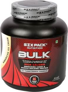 Six Pack Nutrition Bulk American Weight Gainer (2Kg, Cookies and Cream)