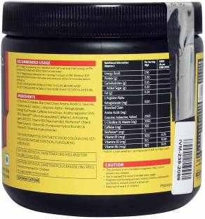 MuscleBlaze PRE Workout 300 (250gm, Fruit Punch)