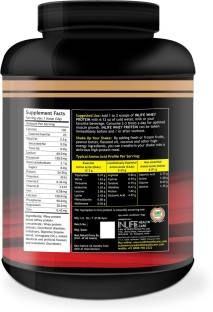 Inlife Whey Protein Powder Supplement (454gm, Coffee)