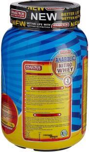 Matrix Nutrition Anabolic Nitro Whey (1Kg, Chocolate)