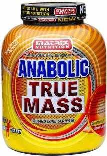 Matrix Nutrition Anabolic True Mass Gainer (1Kg, Chocolate)