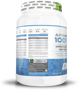 Advance Nutratech 100% Whey Protein Supplement (1Kg, Chocolate)
