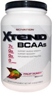 Scivation Xtend BCAAs Muscle Gainers (1.2Kg / 2.65lbs, Fruit Punch)