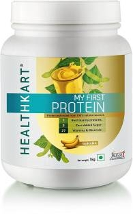 Healthkart My First Protein With Whey & Casein (1Kg, Banana)