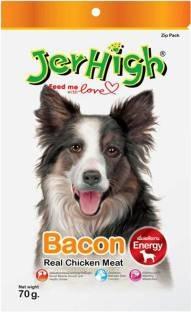 Jerhigh Strip Chicken Dog Treat 70 gm (Pack of 3)
