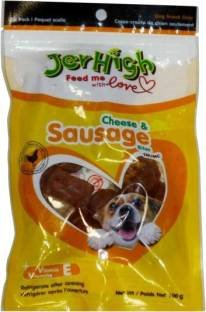 Jerhigh Sausage Cheese Dog Treat 100 gm