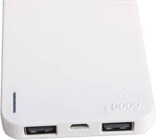 Callmate PB6000-6PSWH 6000 mAh Power Bank