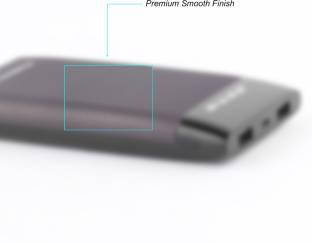Ambrane Plush PP-15 15000mAh Power Bank (Grey)
