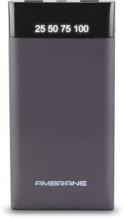 Ambrane Plush PP-10 10000mAh Power Bank (Grey)