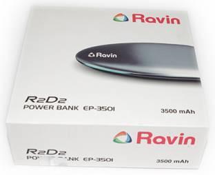 Ravin EP-03501 3500mAh Power Bank