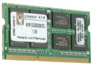 Kingston (KVR1333D3S9/2G) DDR3 2GB Laptop RAM