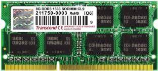 Transcend (TS1GSK64V6H) 8GB DDR3 RAM