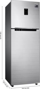 Samsung RT30K3723S8 275L Double Door Refrigerator