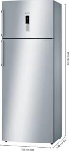 Bosch KDN46XI30I 401L 2S Double Door Refrigerator