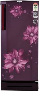 Godrej R D EPro 205 TDI 5.2 PRL WIN 190 L 5 Star Direct-Cool Single-Door Inverter Refrigerator, Pearl Wine