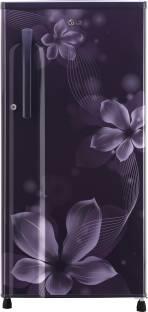 LG GL-B191KPOW 188 L 3 Star Direct Cool Single Door Inverter Refrigerator, Purple Orchid