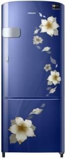 Samsung RR22N3Y2ZU2/HL 212 L 3 Star Direct Cool Single Door Inverter Refrigerator, Rose Mallow Red