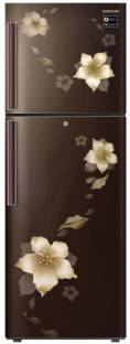 Samsung RT28N3342D2/HL 253 L 2 Star Frost Free Double Door Inverter Refrigerator, Star Flower Brown