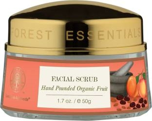 Forest Essentials Facial Scrub Hand Pounded Organic Fruit Scrub (50gm)