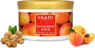Vaadi Herbals Face And Body Scrub With Walnut And Apricot Scrub 500gm