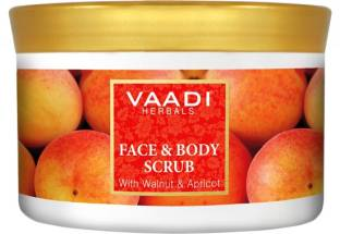 Vaadi Herbals Face And Body Scrub With Walnut And Apricot Scrub (500gm)