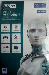 Eset ESET NOD32 Antivirus Version 9 10 PC 1 Year
