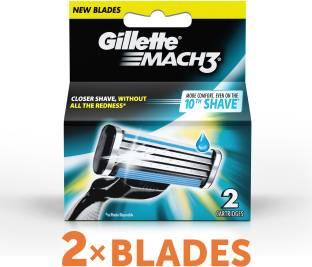 Gillette Mach 3 Cartridges Pack of 2