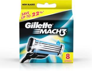 Gillette Mach 3 Cartridges Pack of 8