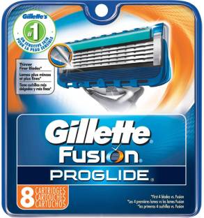 Gillette Fusion Proglide FlexBall Manual Shaving Razor Blades (Cartridge) - 8s Pack